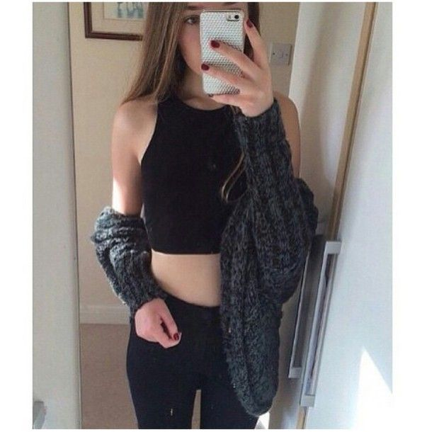 halter top outfit tumblr - Google Search | Fashion, Outfits, Types .