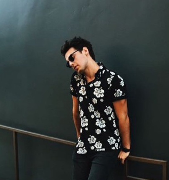 shirt, hawaiian shirt, summer, blake, black, summer outfits .