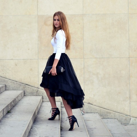 Outfits with Hi Low Skirts - 19 Ways to Wear Hi-Low Skir