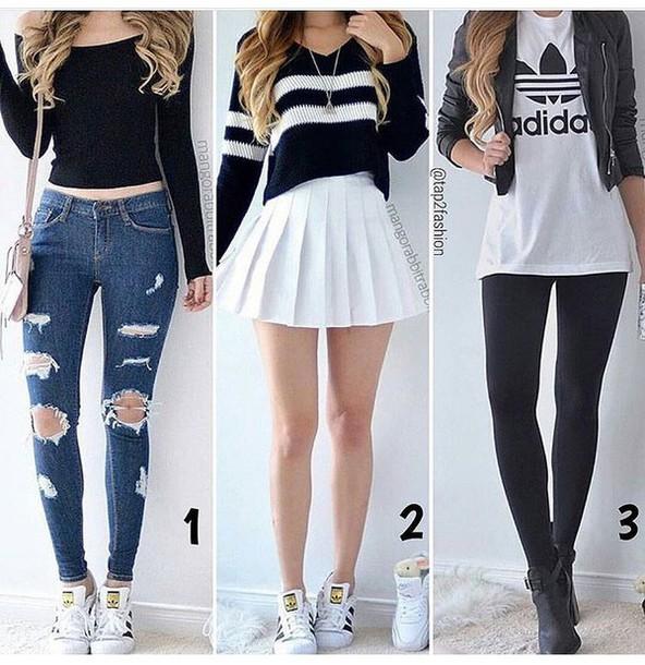 Skirt: skater skirt, mini skirt, white skirt, high waisted skirt .