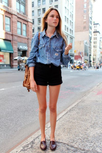 How to Style Black Jean Shorts: Best 13 Low-Key Stylish Outfits .