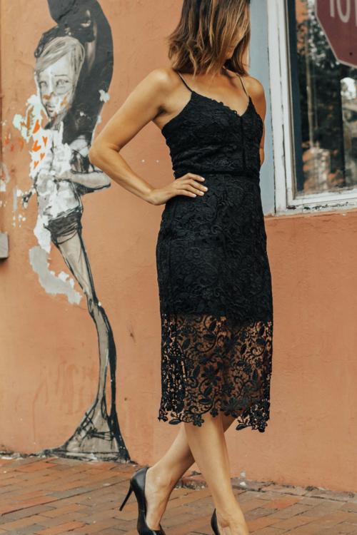 Lace Sheath Dress – Lace Sheath Dress Outfit – Black Lace Sheath .