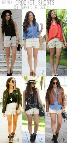 7 Best Lace short outfits images | Outfits, Short outfits, Summer .