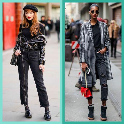 15 Black-Jeans Outfit Ideas — Cute Black-Denim Outfi