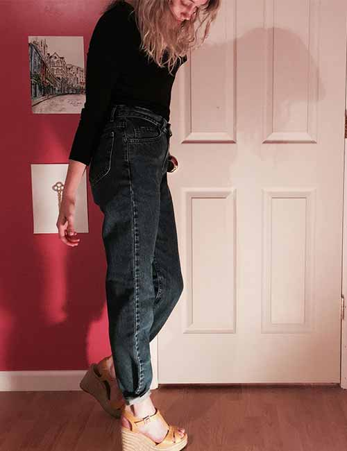 How To Style Your Mom Jeans – 27 Outfit Ide