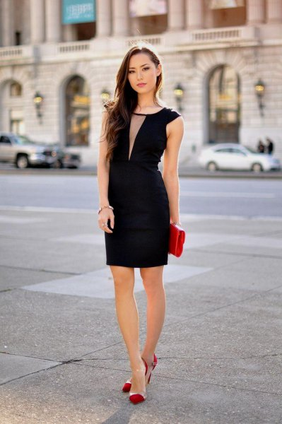 How to Style Black Party Dress: 15 Elegant & Poise Outfit Ideas .
