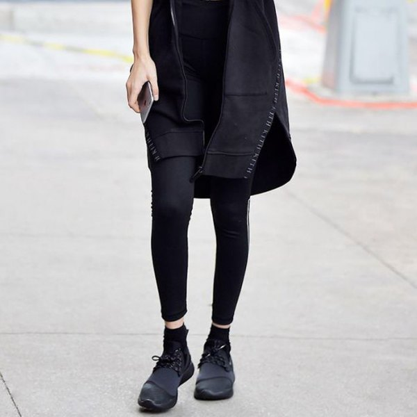 How to Style Black Wedge Sneakers: Best 13 Outfit Ideas for Women .