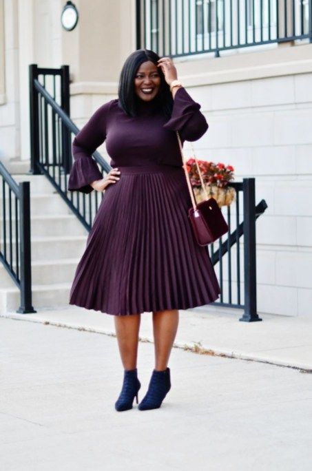 50 Classy And Casual Pleated Skirts Outfits Design Ideas | Pleated .