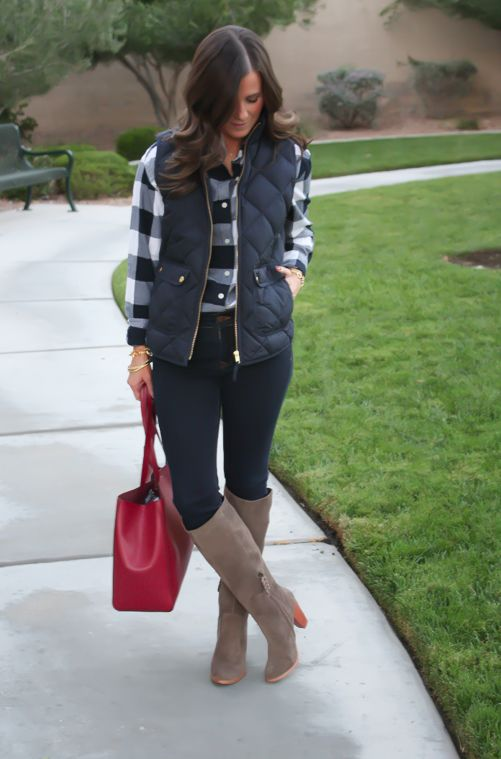 40 Cool Outfit Ideas with Puffy Ve