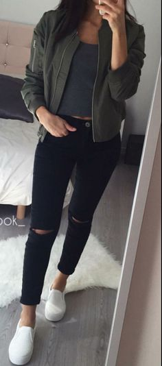 56 Best Ripped Jeans Outfit Ideas images | Cute outfits, Clothes .