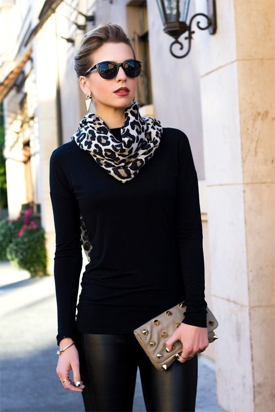 Printed Scarves Outfit Ideas For Women 2020 | FashionTasty.c