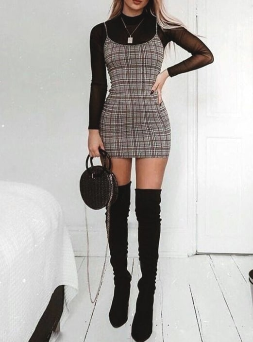 slip-dress-black-transparent-top-outfit-ideas-new-years-eve-outfit .