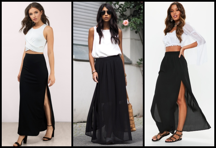 How To Wear A Maxi Skirt - 15 Different Outfit Ide