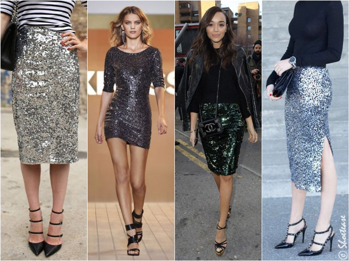 Best Shoes to Wear with Sequin Dre