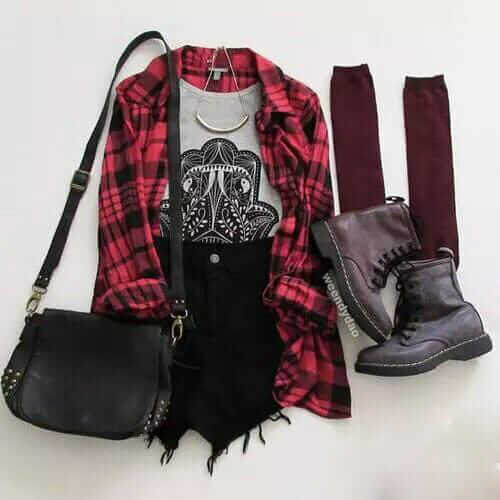 23 Awesome Grunge Outfits Ideas for Women - Ninja Cosmi