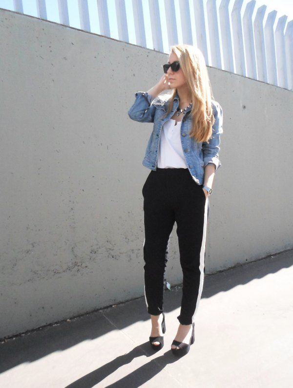 How to Wear Black Sweatpants for Women: Top Outfit Ideas | Black .