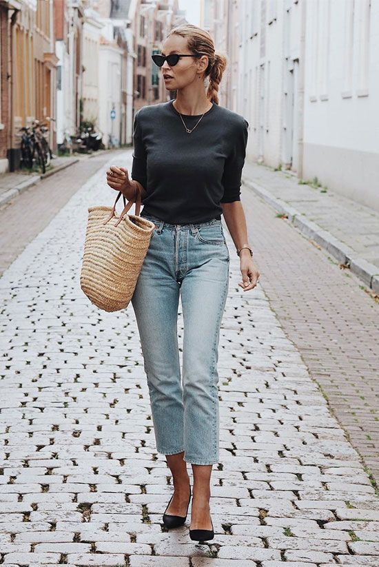 A Month's Worth Of Chic Spring Outfits | Fashion, Simple outfits .