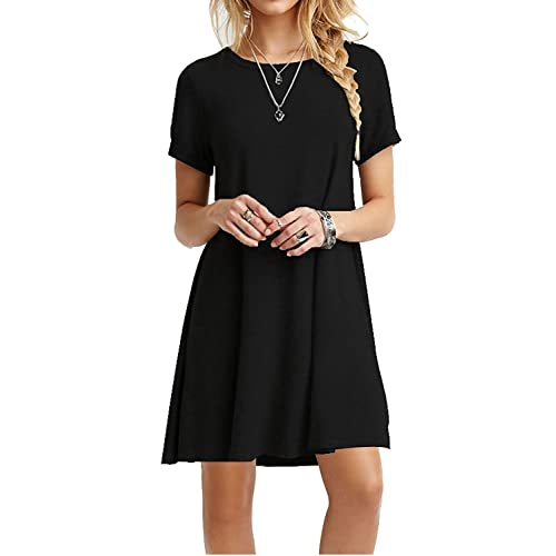 Black Tee Shirt Dress: Amazon.c