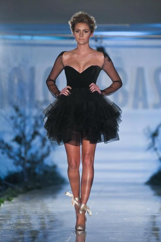 Wonderful Fashion Combination | Black tulle dress, Fashion .
