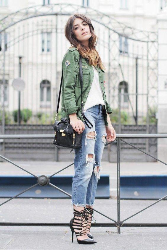 45 Ways to Wear Baggy Jeans Like a Fashion Star | Boyfriend jeans .