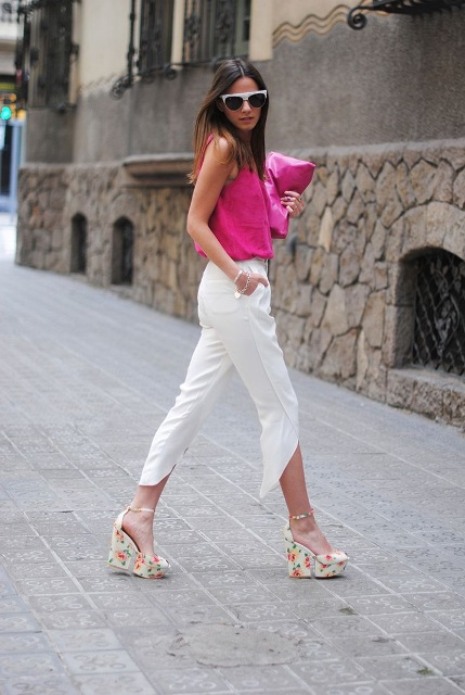 18 Awesome Outfits With Wedge Sandals - Styleohol