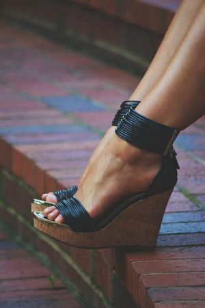 Every girl needs a good wedge sandal in her summer wardrobe heels .