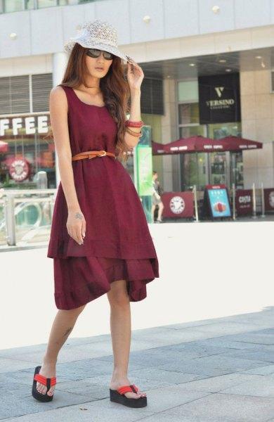 Best 12 Black Wedge Flip Flops Outfit Ideas for Ladies - FMag.c