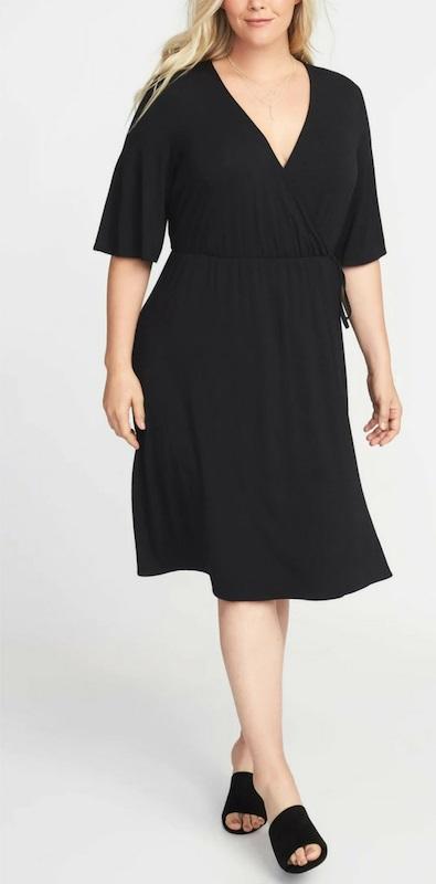 Plus Size Wrap Dress Outfits - Alexa We
