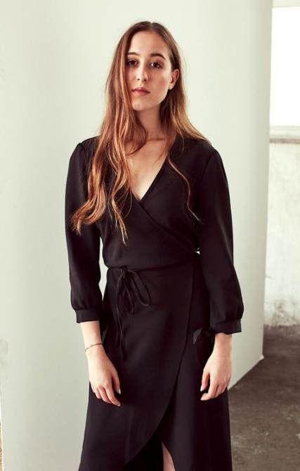 Dress Black Wrap Classy 63 New Ideas #dress | Wrap dress, Wrap .