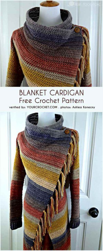 0-blanket-cardigan-free-crochet-pattern | Crochet shrug pattern .