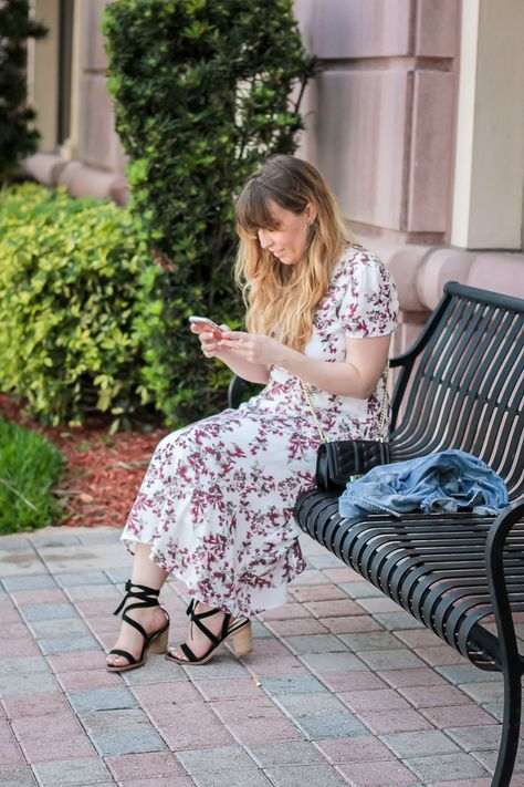 Easy Floral Dress Outfit Idea | Floral dress outfits, Fashion, Outfi