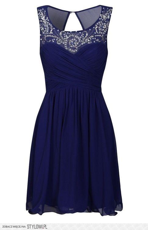 gorgeous blue and silver short dress (wedding?)   Fancy dresses .