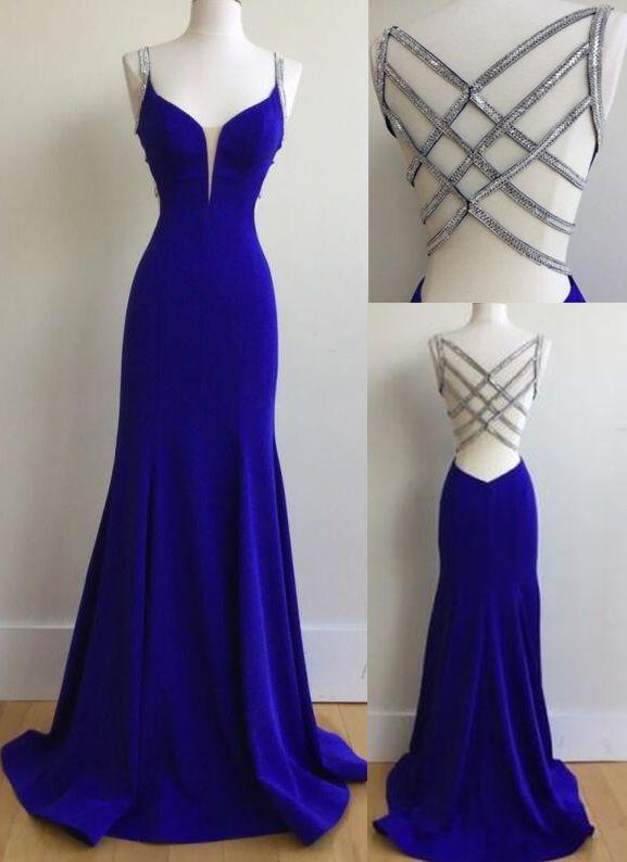 royal blue prom dresse, long prom dresses, dresses for women, new .