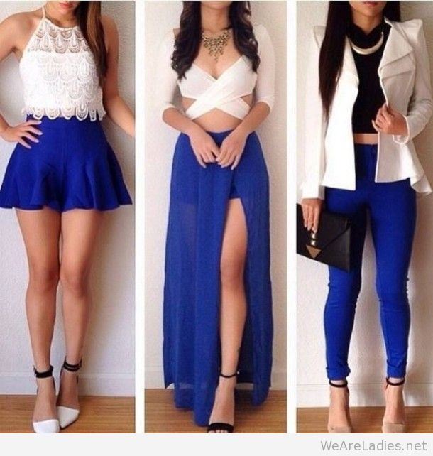 Blue outfits tumblr 20