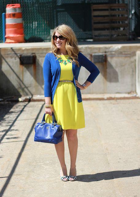 Search Cloud Template - LivingMag   Mix, match fashion, Blue dress .