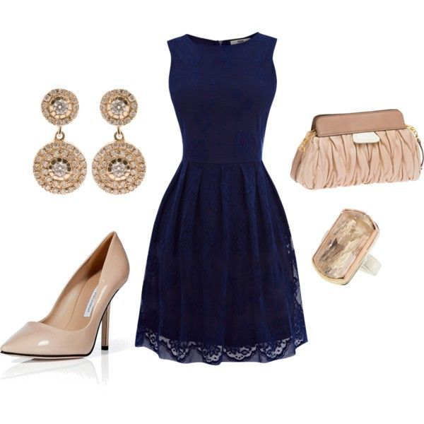 15 Modern Polyvore Combinations For The Business Woman | Navy .