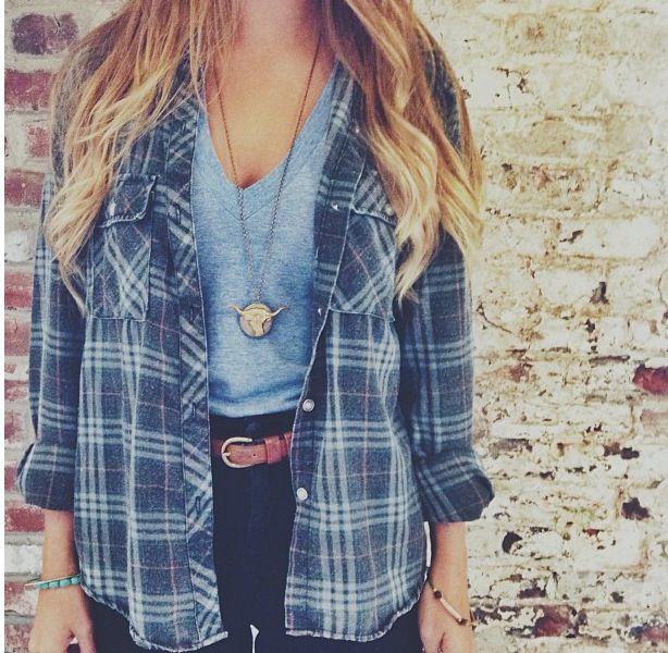 StO-Style: Fashion Focus - Flannel | Outfit ideas | Fashion .