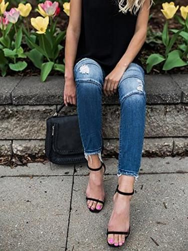 How To Rock Casual Outfits With Heels | Jeans with heels, Dressy .