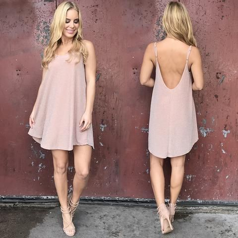 All That Shimmers Dress In Blush Pink | Blush dress outfit .