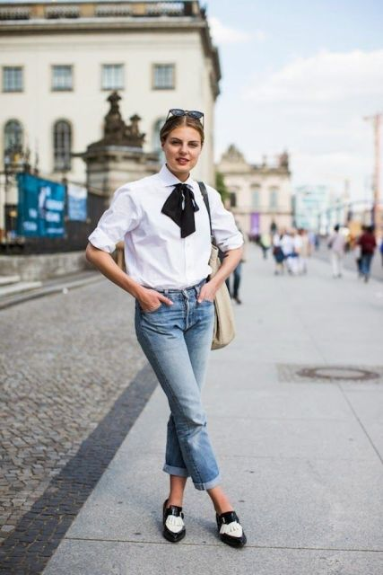 18 Outfits With Bow Blouses To Repeat - Styleohol