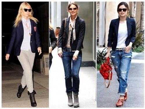 Trend Alert: Boyfriend Blazers for Fall 2010 - The Fashionable .