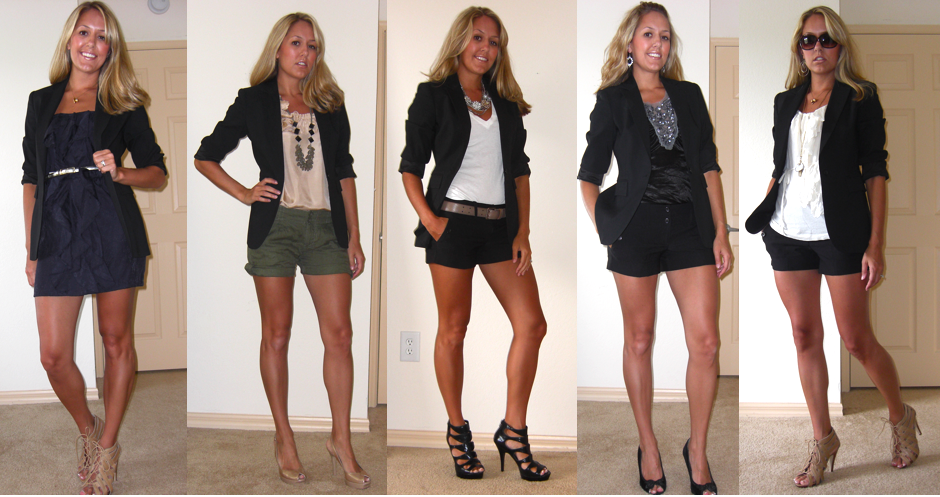 Flashback Friday: Black Boyfriend Blazer — J's Everyday Fashi