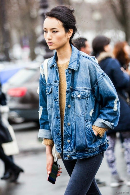 18 Styles to Wear Your Denim Jackets for Spring - Pretty Desig