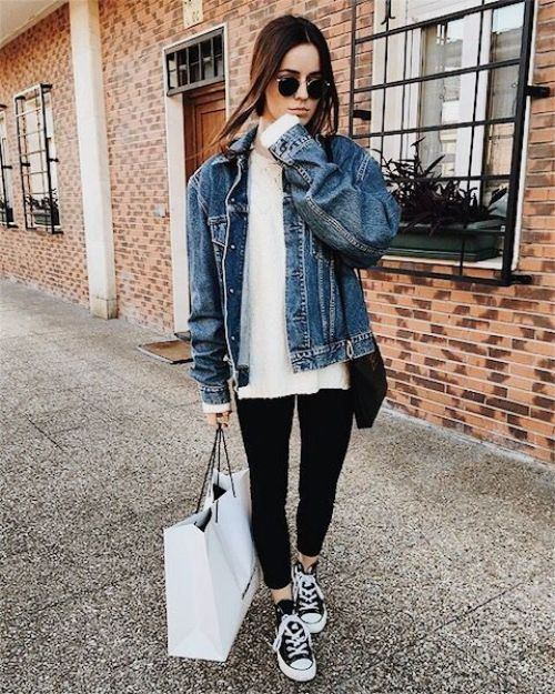 How to style your denim jacket | Fashion, Cute outfits, Cloth