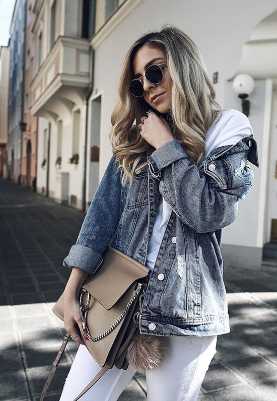 13 Coolest Denim Jackets for Women in 2020: Jean Jacket Outfits to T