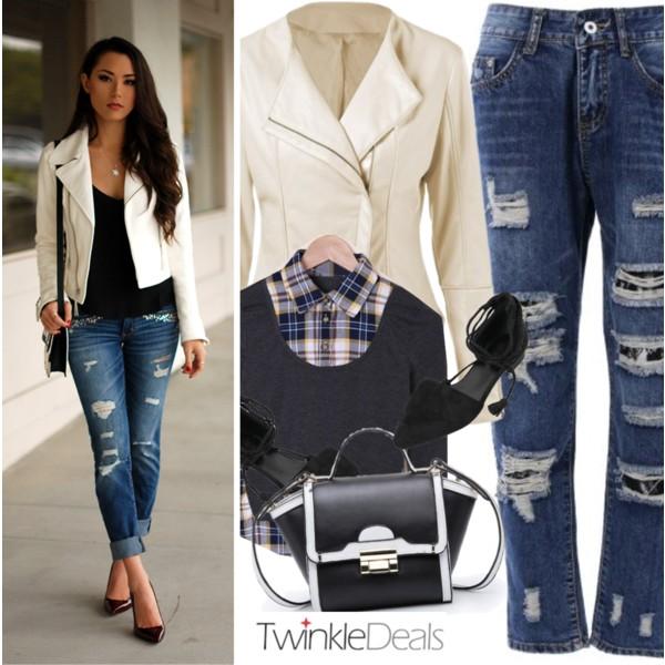 Boyfriend Jeans Outfit Ideas For Women Over 30 2020 | Style Debat