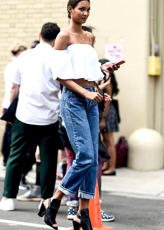 how-to-wear-boyfriend-jeans-outfit-ideas | Ecemel