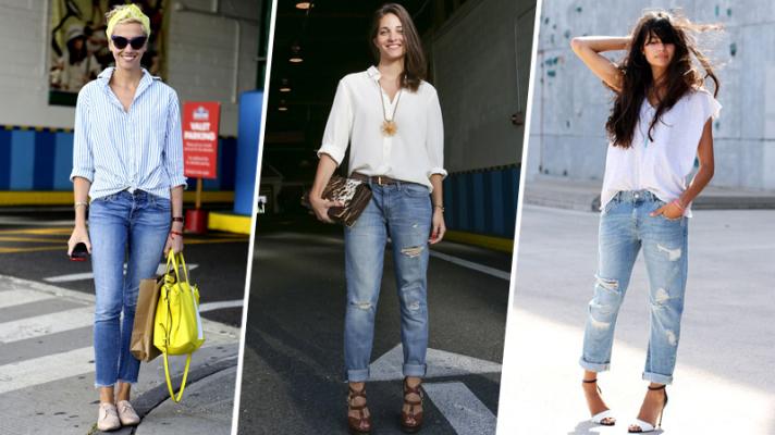 How to Wear Boyfriend Jeans: 10 Genius Ideas | StyleCast
