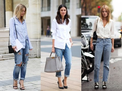 How To Wear Boyfriend Jeans Simple Outfits What To Wear With A .