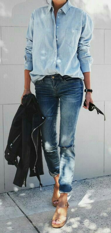 Pin by Mary-Claire Hoffman on My Style | Denim trends, Boyfriend .